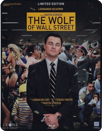 The Wolf of Wall Street (2013) (Edizione Limitata, Steelbook, 2 Blu-ray)
