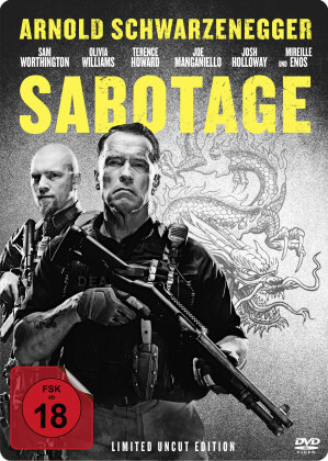 Sabotage - (Steelbook - Limited Uncut Edition - FSK 18) (2014)