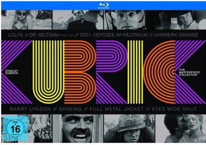 Stanley Kubrick - The Masterpiece Collection (10 Blu-rays)