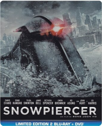 Snowpiercer (2013) (Steelbook, Limited Edition, 2 Blu-rays + DVD)