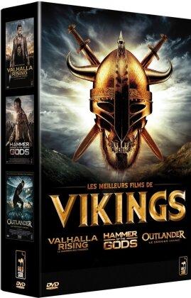 Les meilleurs films de Vikings - Valhalla Rising / Hammer of the Gods / Outlander (3 DVDs)