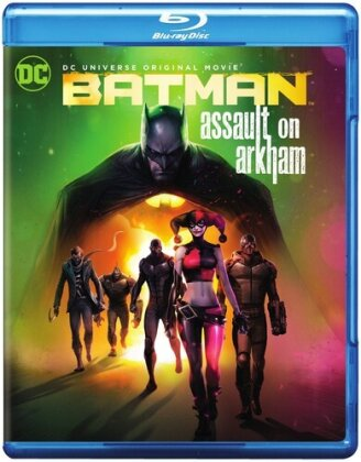 Batman - Assault on Arkham (2014) (Blu-ray + DVD)