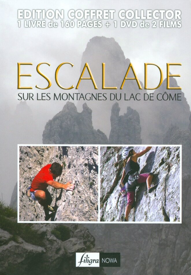 Escalade - Sur les montagnes du lac de Côme (Collector's Edition, DVD + Buch)