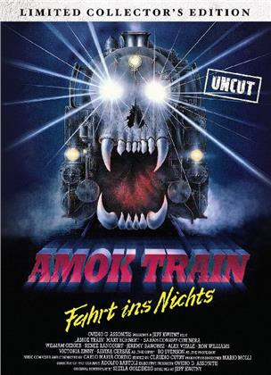 Amok Train (1989) (Cover C, Limited Edition, Mediabook, Uncut, Blu-ray + DVD)
