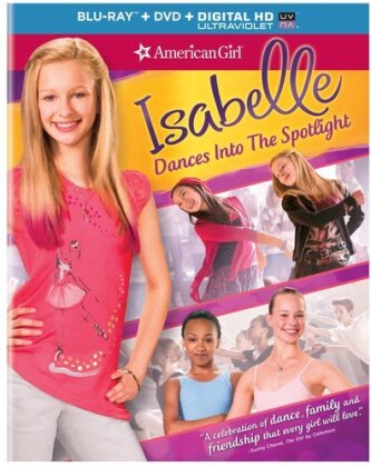 Isabelle Dances Into the Spotlight - American Girl (2014) (Blu-ray + DVD)