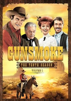 Gunsmoke - Season 10.1 (b/w, 5 DVDs)