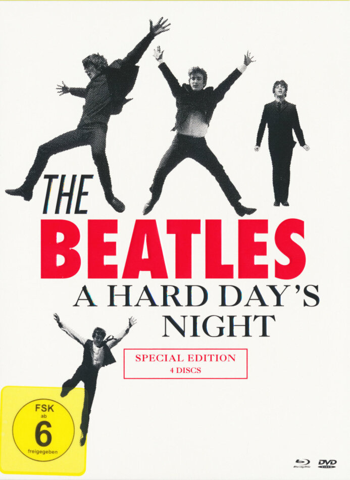 The Beatles - A hard Day's Night (Special Edition, Blu-ray + 3 DVDs)