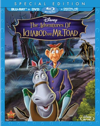 The Adventures of Ichabod and Mr. Toad (1949) (Special Edition, Blu-ray + DVD)