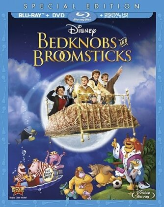 Bedknobs and Broomsticks (1971) (Special Edition, Blu-ray + DVD)