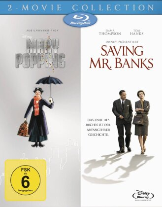 Mary Poppins / Saving Mr. Banks (2 Blu-rays)