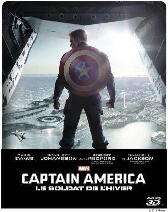 Captain America 2 - Le soldat de l'hiver (2014) (Steelbook)
