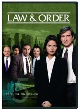 Law & Order - The Fifth Year (5 DVDs)