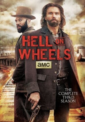Hell on Wheels - Season 3 (3 DVDs)