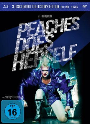 Peaches Does Herself -  (Mediabook, Blu-ray + 2 DVD)