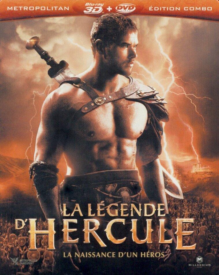 La légende d'Hercule (2014) (Steelbook, Blu-ray 3D (+2D) + DVD)