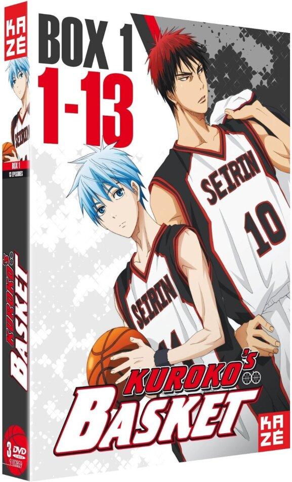 Kuroko's Basket - Box 1 (3 DVDs)