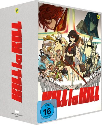 Kill la Kill - Staffel 1 - Vol. 1 (+ Sammelschuber, Limited Edition, 2 DVDs)