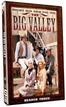 Big Valley: Season 3 - Big Valley: Season 3 (6PC) (6 DVDs)
