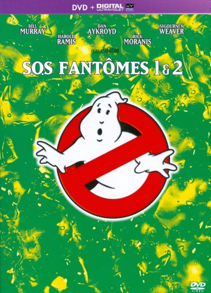 SOS fantômes 1 & 2 (2 DVDs)