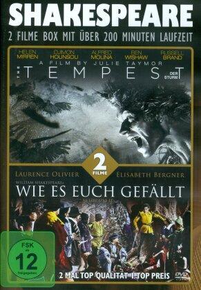 Shakespeare Box - The Tempest / Wie es euch gefällt