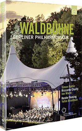 Berliner Philharmoniker, Chailly Riccardo, … - Waldbühne in Berlin 2009, 2010 & 2011 (Euro Arts, 3 DVDs)