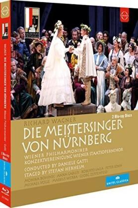 Wiener Philharmoniker, Daniele Gatti, … - Wagner - Die Meistersinger von Nürnberg (Euro Arts, Salzburger Festspiele, Unitel Classica, 2 Blu-rays)