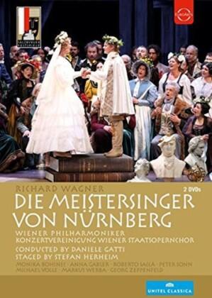 Wiener Philharmoniker, Daniele Gatti, … - Wagner - Die Meistersinger von Nürnberg (Euro Arts, Salzburger Festspiele, Unitel Classica, 2 DVDs)