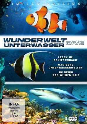 Wunderwelt Unterwasser - Dive (Limited Edition, 3 DVDs)
