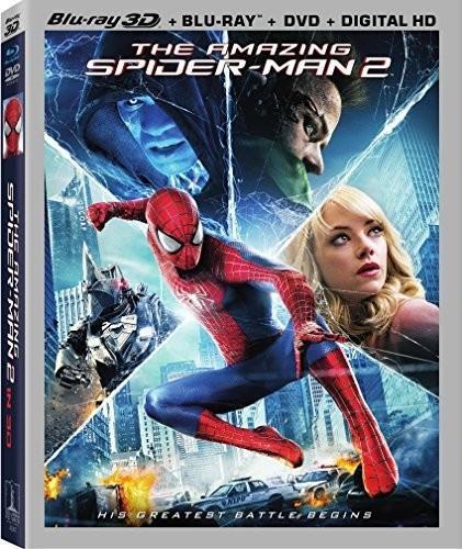The Amazing Spider-Man 2 (2014) (Blu-ray 3D (+2D) + Blu-ray + DVD)
