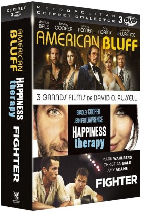 American Bluff (2013) / Happiness Therapy (2012) / Fighter (2010) (3 DVDs)