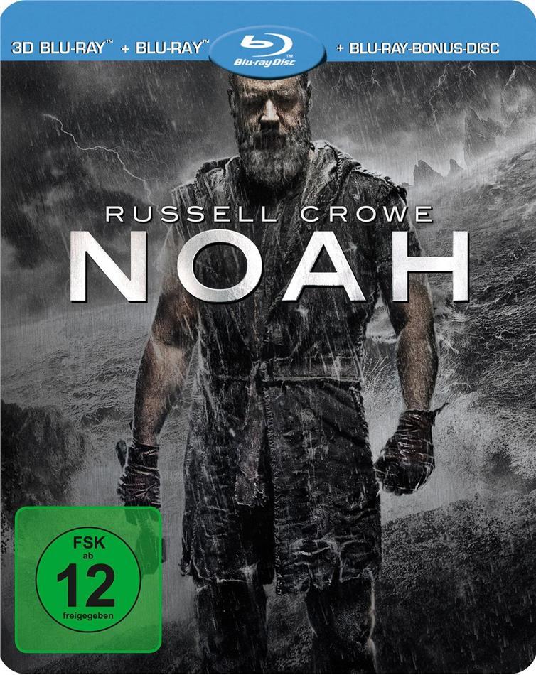 Noah - (Real 3D & 2D + Bonus-Disc) (2014) (Limited Steelbook)