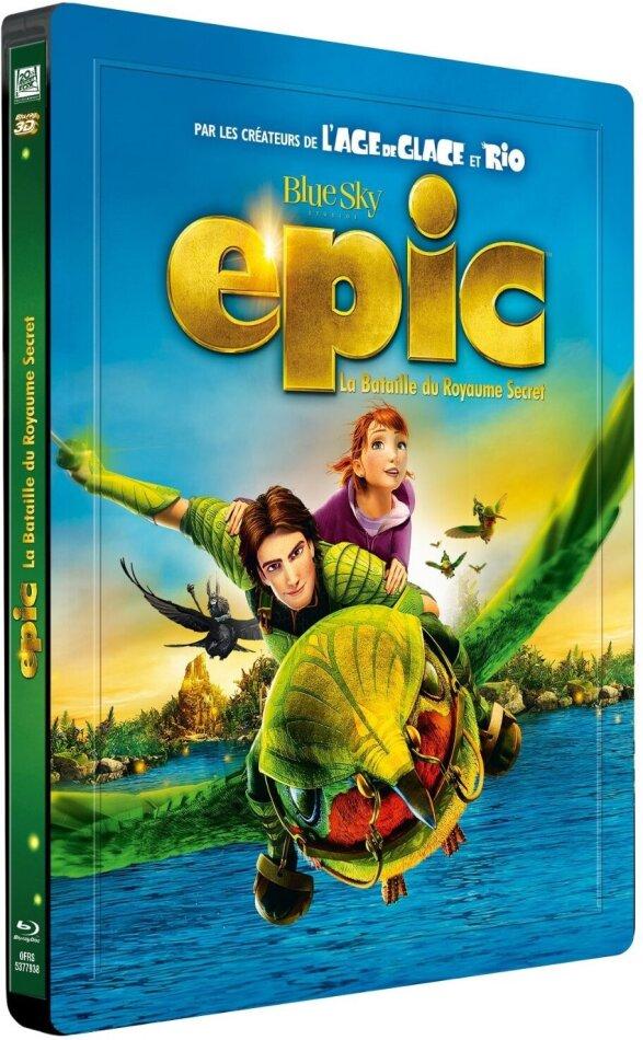 Epic - La bataille du royaume secret (2013) (Steelbook, Blu-ray 3D (+2D) + DVD)