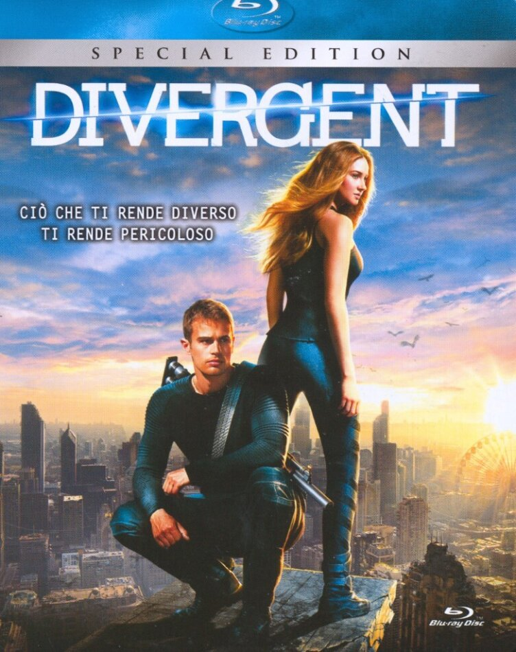 Divergent (2014) (Edizione Speciale, Steelbook)