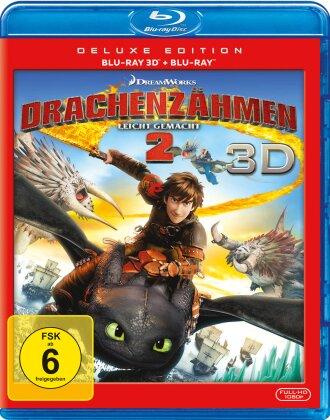 Drachenzähmen leicht gemacht 2 (2014) (Deluxe Edition, Blu-ray 3D + Blu-ray)