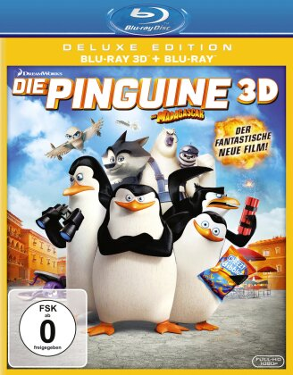 Die Pinguine aus Madagascar (2014) (Deluxe Edition, Blu-ray 3D + Blu-ray)