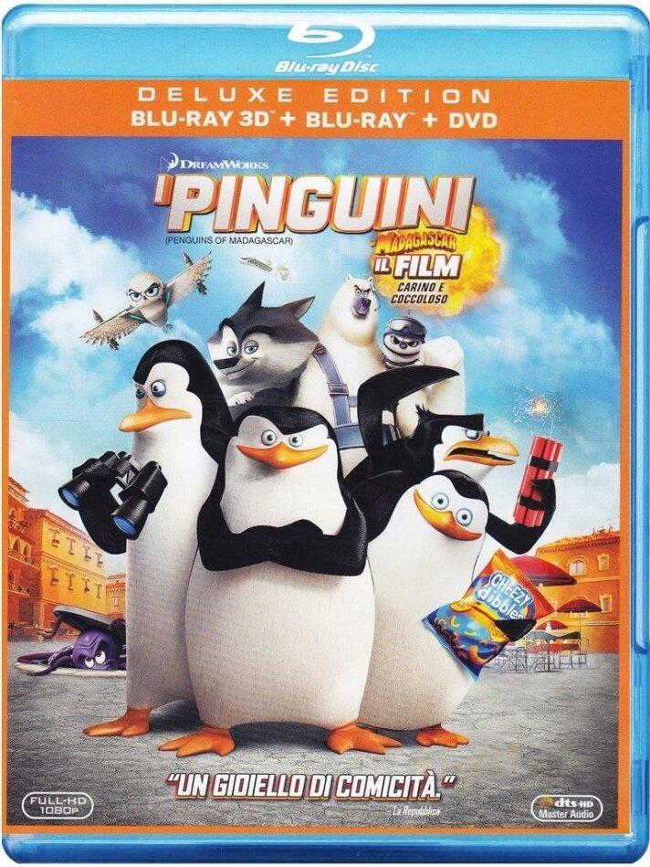 I Pinguini di Madagascar (2014) (Deluxe Edition, Blu-ray 3D + Blu-ray + DVD)