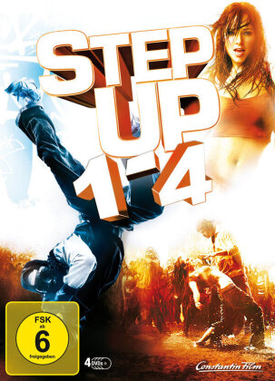 Step Up 1-4 (4 DVDs)