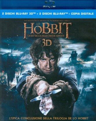 Lo Hobbit 3 - La battaglia delle cinque armate (2014) (2 Blu-ray 3D + 2 Blu-ray)