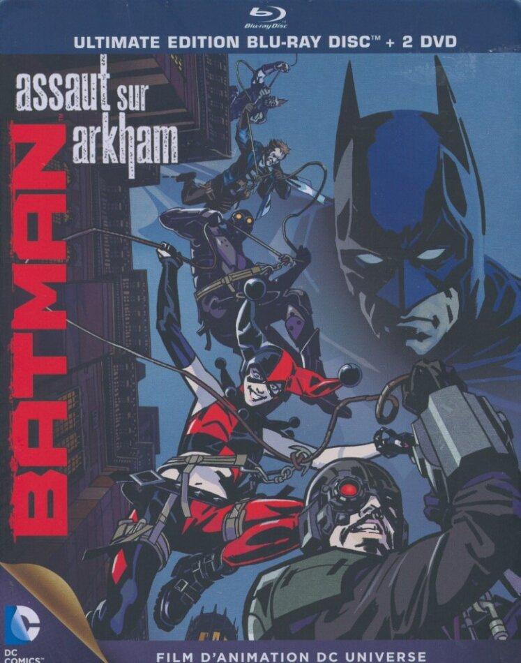 Batman - Assaut sur Arkham (2014) (Steelbook, Blu-ray + DVD)