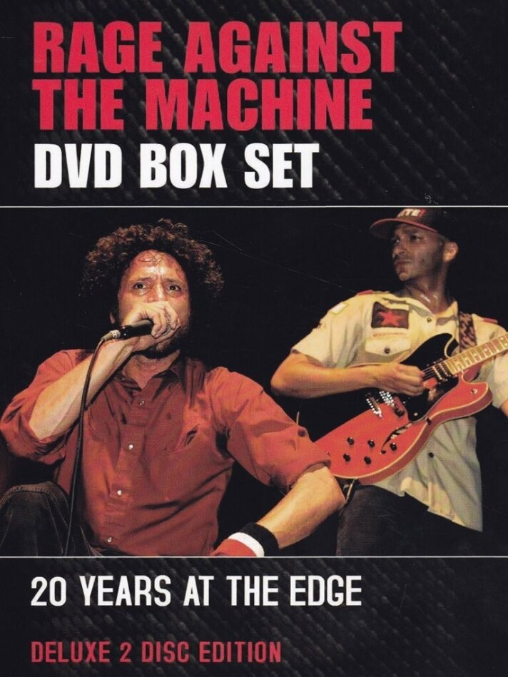Rage Against The Machine - DVD Box Set - 20 Years at the Edge (Deluxe Edition, Inofficial, 2 DVDs)
