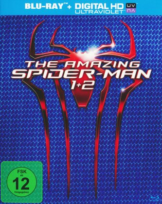 The Amazing Spider-Man (2012) / The Amazing Spider-Man 2 (2014) (2 Blu-rays)