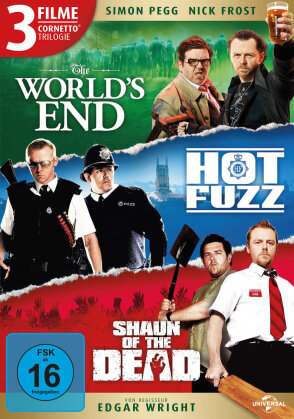 The World's End / Hot Fuzz / Shaun of the Dead - Cornetto Trilogie (3 DVDs)
