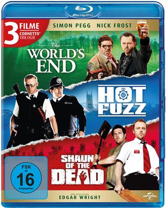 The World's End / Hot Fuzz / Shaun of the Dead - Cornetto Trilogie (3 Blu-rays)