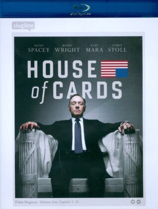 House of Cards - Stagione 1 (4 Blu-ray)