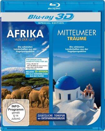 Afrika aus der Luft / Mittelmeerträume (Double Feature, Special Edition)