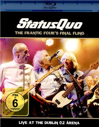 Status Quo - The Frantic Four's Final Fling - Live at the Dublin 02 Arena (Blu-ray + CD)