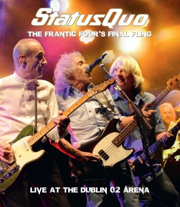 Status Quo - The Frantic Four's Final Fling - Live at the Dublin 02 Arena (DVD + CD)