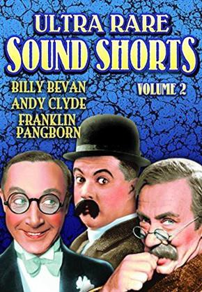 Rare Early Sound Shorts 1931-1939