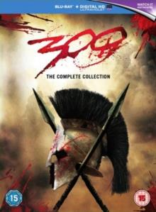 300 (2006) / 300 - Rise of an Empire (2013) - Two Film Collection (2 Blu-rays)
