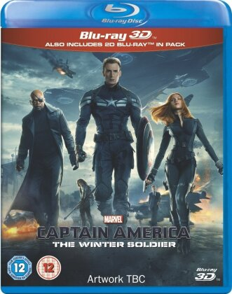Captain America 2 (2014) (Blu-ray 3D + Blu-ray)